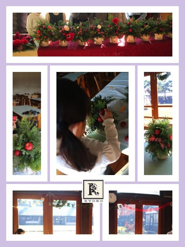 「お花のこよみ教室」クリスマス第2回_c0128489_21064509.jpg