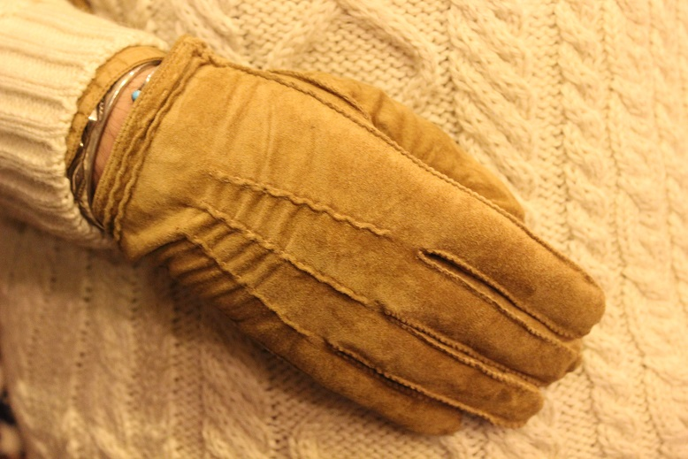 "ANACHRONORM ""GENTLEMAN\'S GLOVE by ISLAND KNIT WORKS\"" ご紹介_f0191324_97555.jpg"