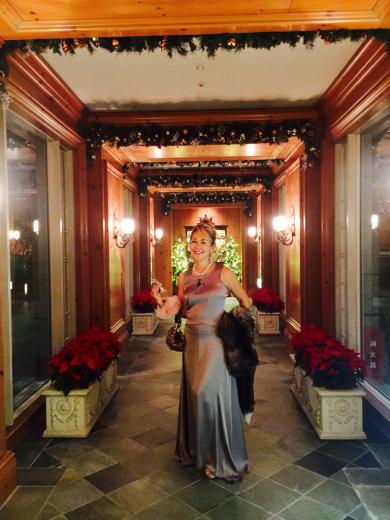 華やかなクリスマスパーティー@リッツカールトン大阪_f0215324_11543477.jpg
