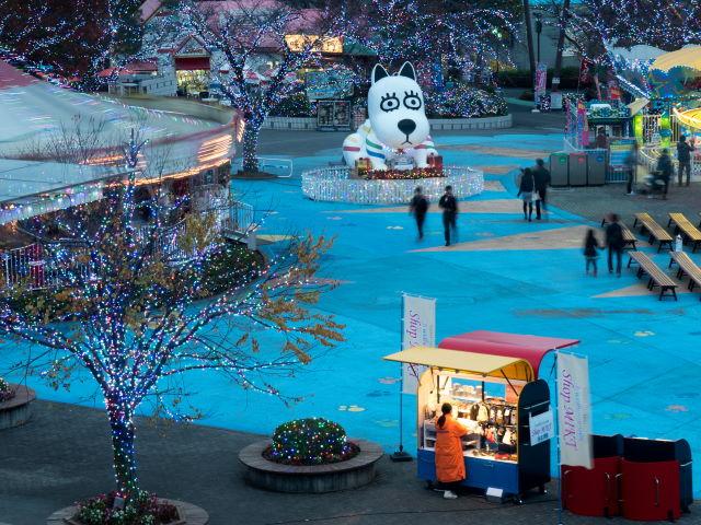 遊園地のイルミネーション_a0257652_8201531.jpg