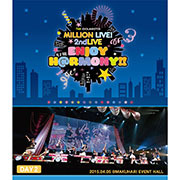 THE IDOLM@STER MILLION LIVE! 2ndLIVE ENJOY H@RMONY!! LIVE Blu-ray/rino(CooRie)RELEASE INFORMATION_e0189353_176731.jpg