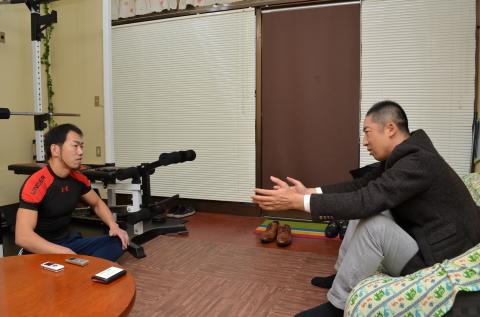 阪神タイガース 今岡 誠 二軍打撃兼野手総合コーチと、対談させていただきました~♪\(^o^)/_d0191262_18590405.jpg