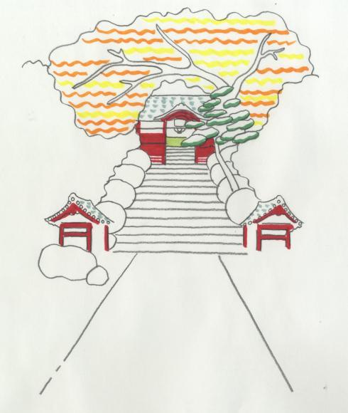 東京八十八ヶ所巡り「東京お遍路ゆる散歩」イラストエッセイも毎週水曜日連載中♪今回は護国寺_d0339885_15254263.jpg