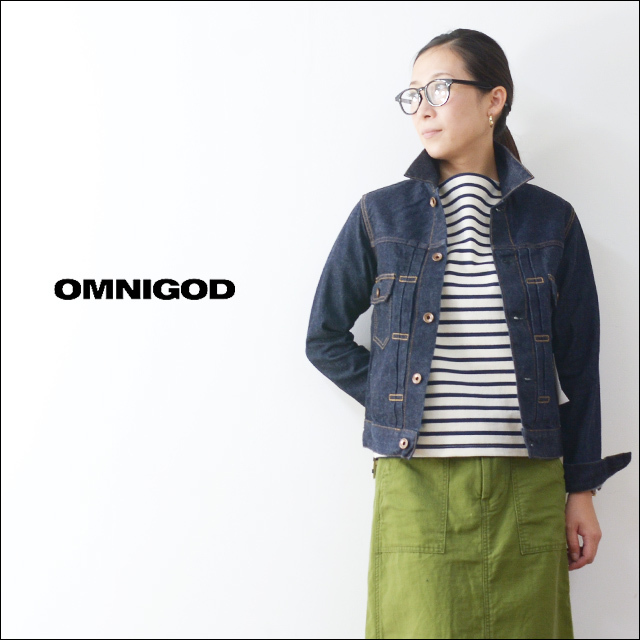 OMNIGOD[オムニゴッド] 2ND TYPE JACKET ONE WASH  [58-747C]  LADY\'S_f0051306_19312864.jpg