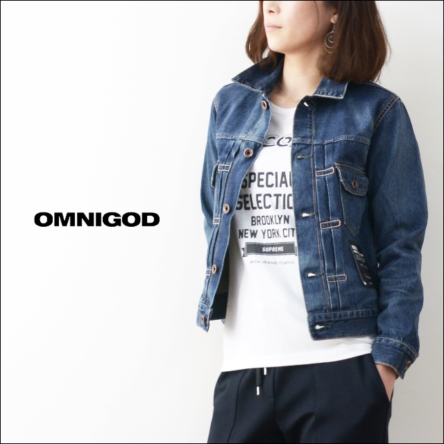 OMNIGOD[オムニゴッド] 2ND TYPE JACKET  [58-748C] LADY\'S_f0051306_19335226.jpg
