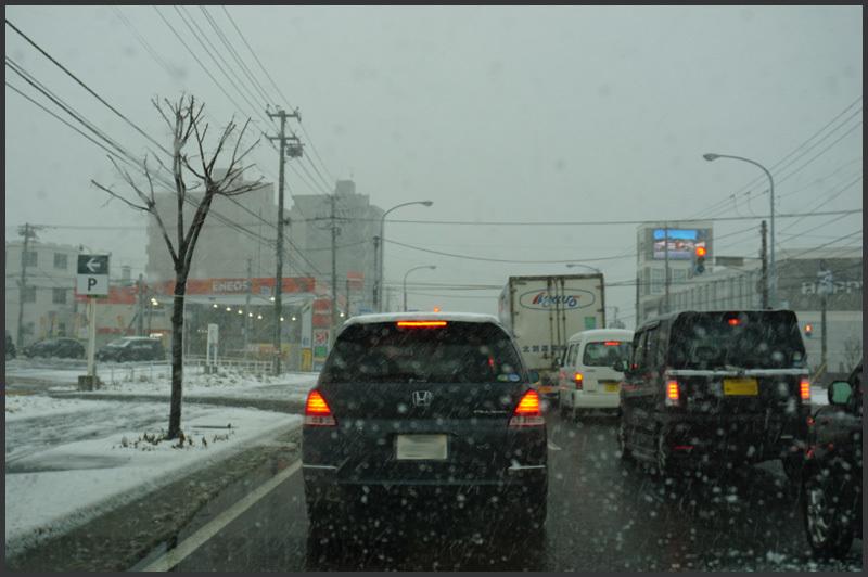 札幌積雪ゼロから一転_b0019313_17301728.jpg