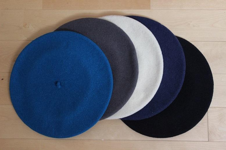 """質・生産国・価格、コスパの良い\""""ベレー帽\"""" ご紹介_f0191324_1139118.jpg"""