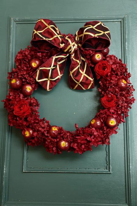 12月13日レッスン 結婚式のプレゼントやリース手作りいろいろ 次回1月31日_a0042928_19182245.jpg