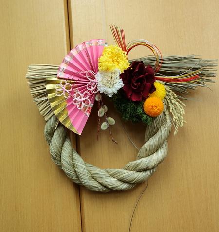 12月13日レッスン 結婚式のプレゼントやリース手作りいろいろ 次回1月31日_a0042928_19184128.jpg