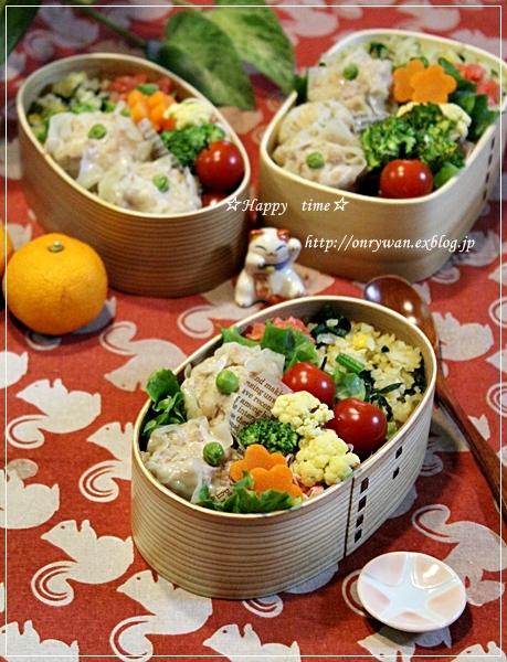 ポパイ炒飯と焼売弁当と~♪_f0348032_16263741.jpg