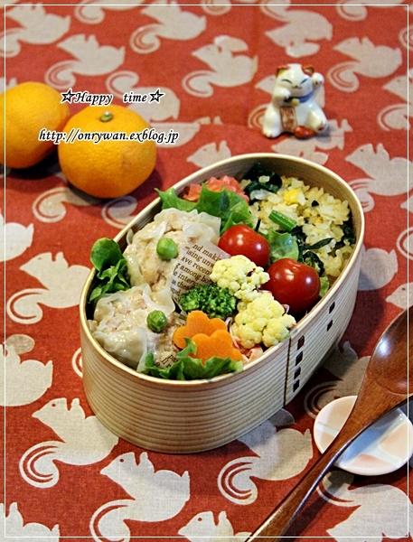 ポパイ炒飯と焼売弁当と~♪_f0348032_16264705.jpg