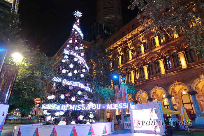 Christmas illumination ~2~ Martin Place_f0084337_20311305.jpg