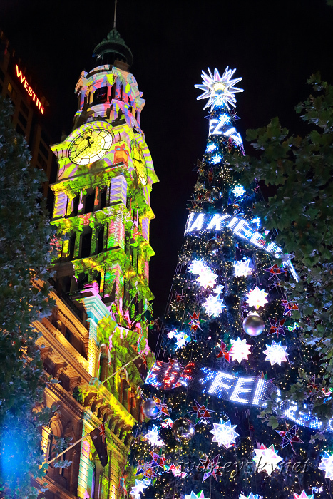 Christmas illumination ~2~ Martin Place_f0084337_20311427.jpg