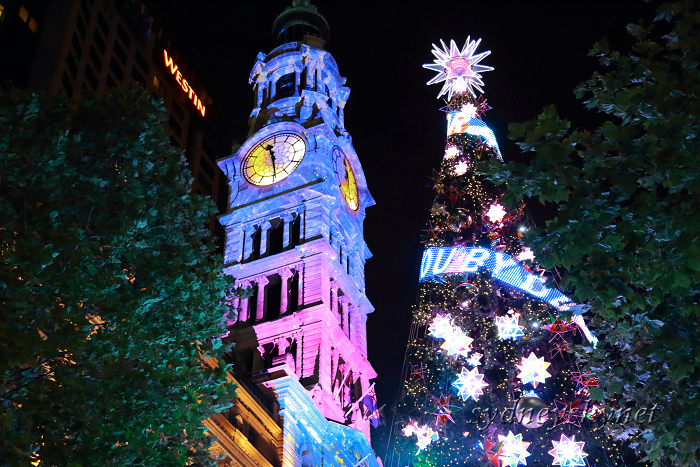 Christmas illumination ~2~ Martin Place_f0084337_20311449.jpg