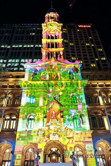 Christmas illumination ~2~ Martin Place_f0084337_21373280.jpg