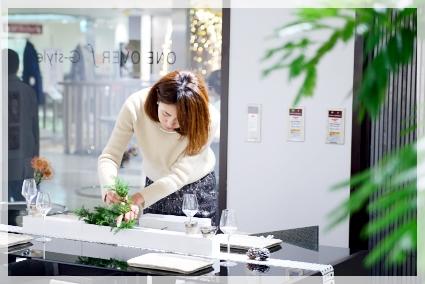 宮部友宏さんの器でX'masテーブル☆ ~空間コーディネートクラス_d0217944_12165312.jpg