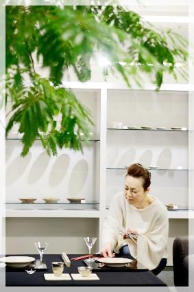 宮部友宏さんの器でX'masテーブル☆ ~空間コーディネートクラス_d0217944_14554090.jpg