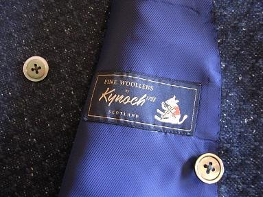スコットランド産のブークレ調ツィード de 四半世紀ぶりにダブルジャケットを創った 編_c0177259_23264391.jpg