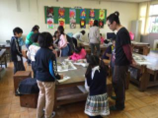 丸甲小学校に陶芸作品返しに行きました。_b0159687_11574529.jpg
