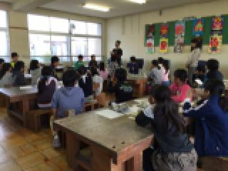 丸甲小学校に陶芸作品返しに行きました。_b0159687_11583970.jpg