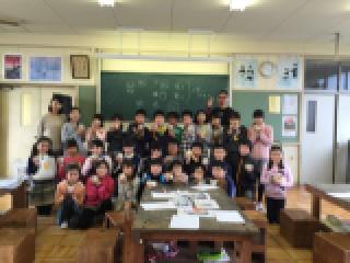 丸甲小学校に陶芸作品返しに行きました。_b0159687_1213250.jpg