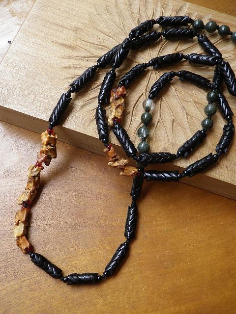 蛇骨×スネークビーズ_b0249499_1964448.jpg