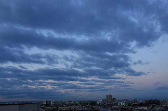 波状雲 (層積雲)_b0268615_8125458.jpg