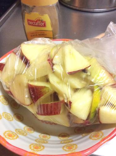 りんごのデザート(*^^*)_f0170422_22410768.jpg