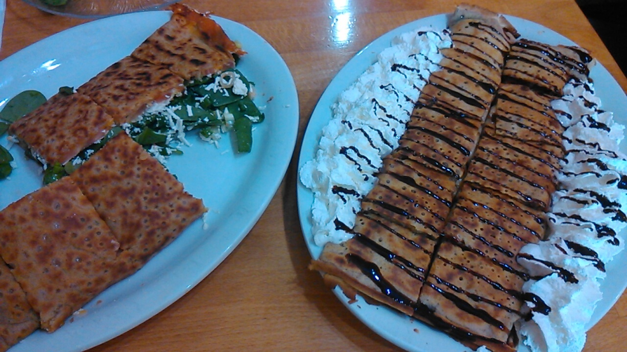 Delicious Crepes Bistro@Santa Clara : Santa Clara のんびり日記