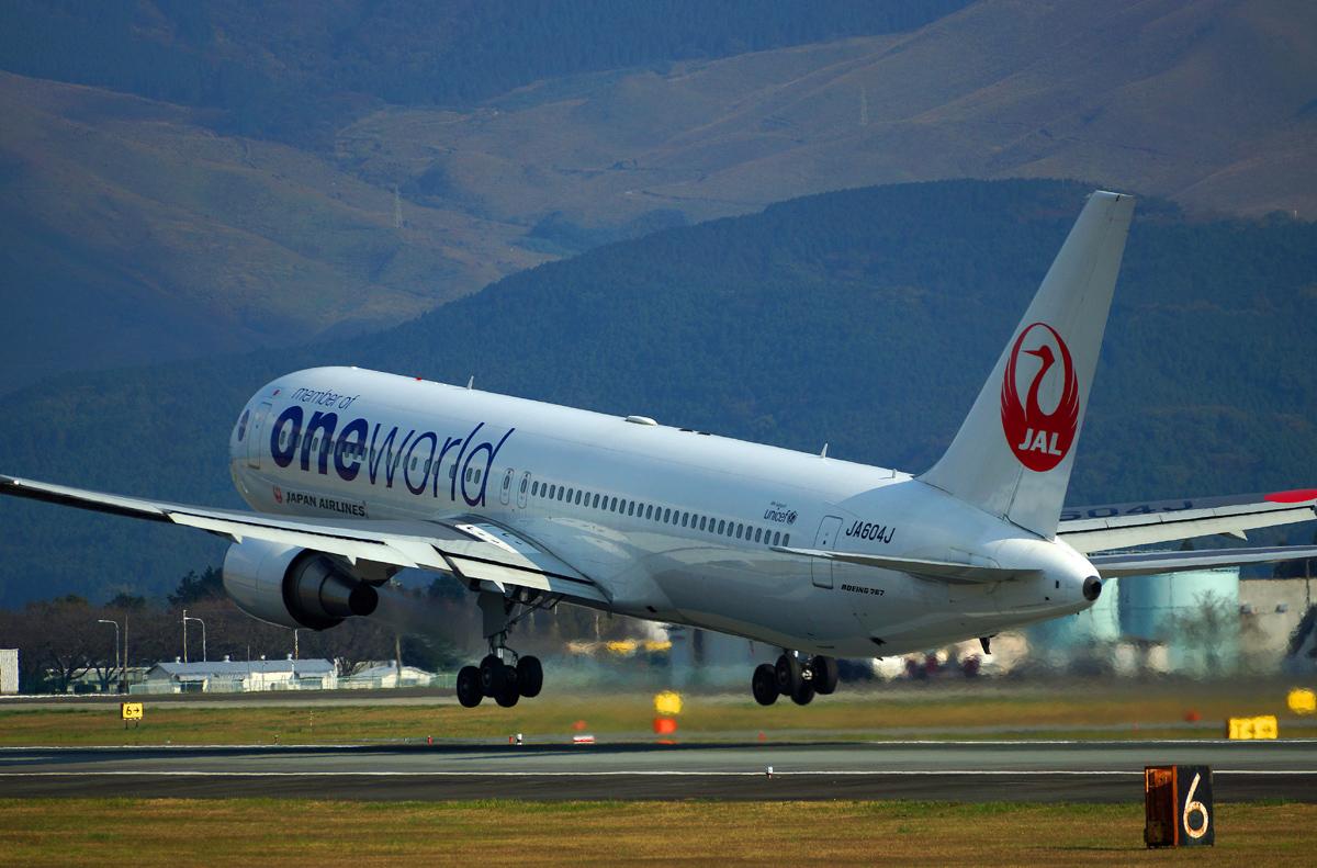 JAL oneworld。  _b0044115_836789.jpg