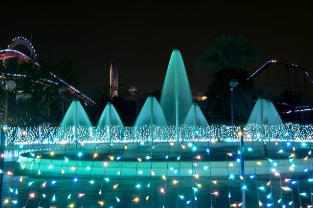 遊園地のイルミネーション④_a0257652_171881.jpg