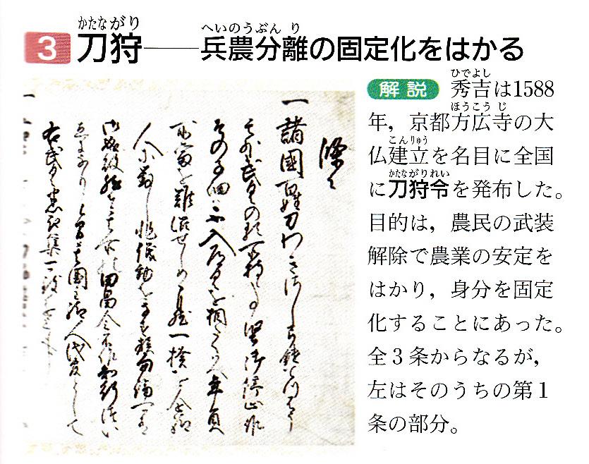 第31回日本史講座のまとめ② (太閤検地と石高制) : 山武の世界史