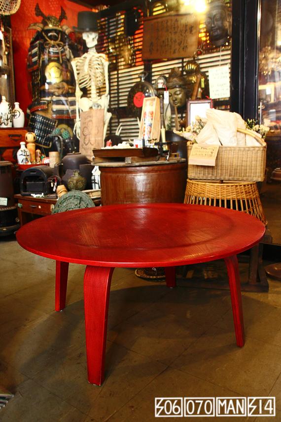 イームズ CTW コーヒーテーブル チェリーレッド Eames_e0243096_14352618.jpg
