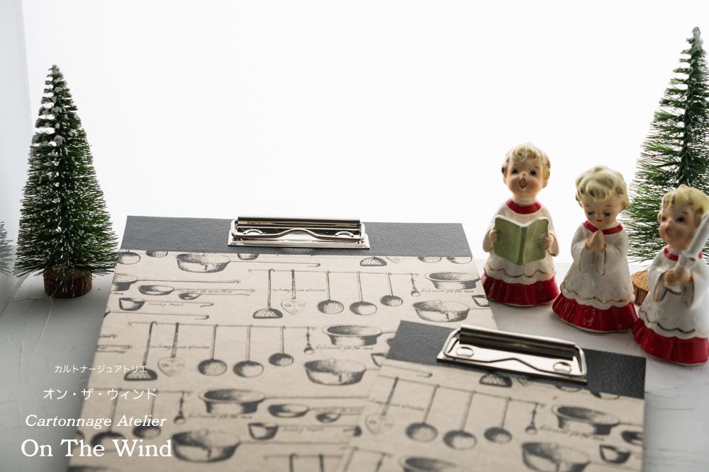 カルトナージュ*12月制作の作品は、クリスマスセッティングで撮影です。No.1(アトリエメンバー作品)_d0154507_15051853.jpg