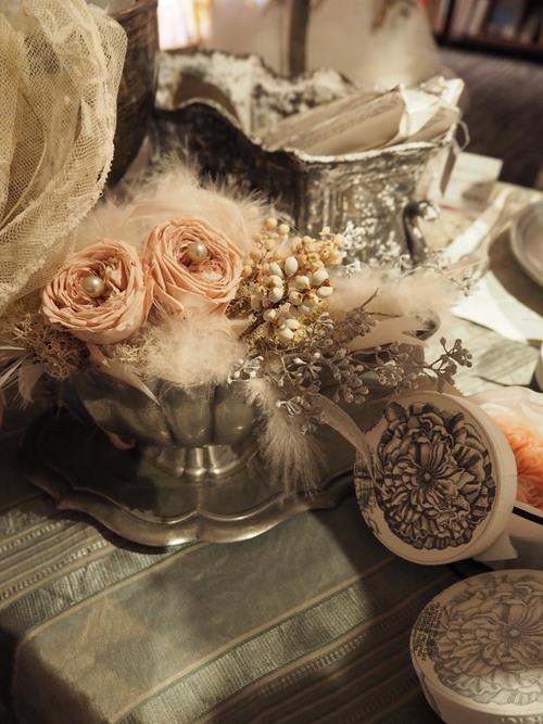 ボタニカル フレンチシャビーウェディングdecoration × 花嫁の支度部屋』 _d0162257_361322.jpg