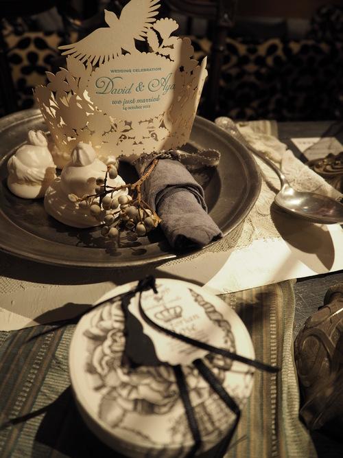ボタニカル フレンチシャビーウェディングdecoration × 花嫁の支度部屋』 _d0162257_372297.jpg