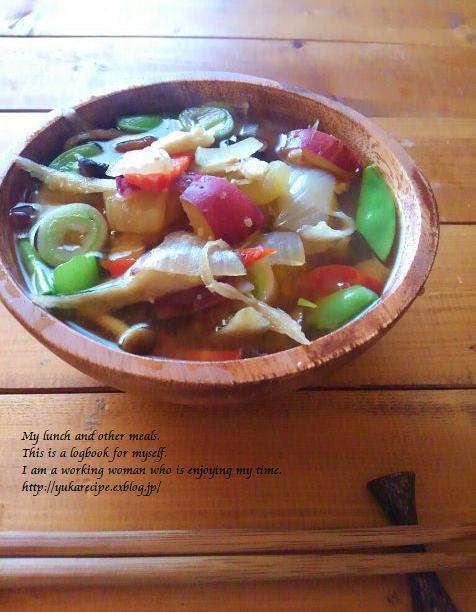 イエシゴトVol.132 自家製味噌の干し野菜けんちん汁&味噌の寒仕込み完成。_e0274872_10151672.jpg
