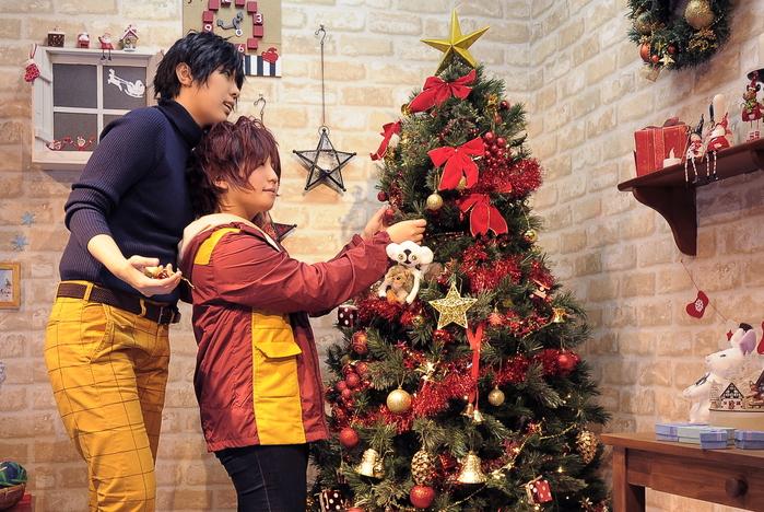 クリスマスの飾り付け。_a0157480_1562823.jpg
