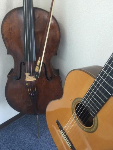 チェロと、そしてギターと_f0018889_17091438.jpg