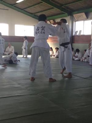 安武道場との合同練習_b0172494_20434261.jpg