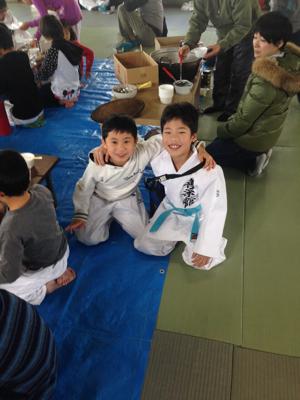 安武道場との合同練習_b0172494_20543380.jpg