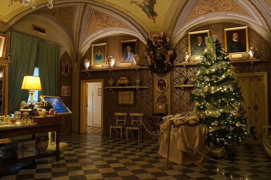 サンタマリアノヴェッラ薬局のティールーム〜フィレンツェの歴史ある名店_f0106597_06092594.jpg