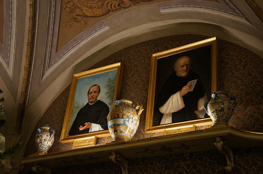 サンタマリアノヴェッラ薬局のティールーム〜フィレンツェの歴史ある名店_f0106597_06110576.jpg