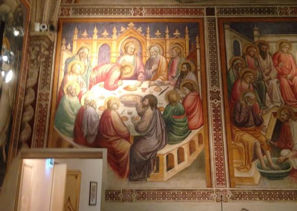 サンタマリアノヴェッラ薬局のティールーム〜フィレンツェの歴史ある名店_f0106597_07104700.jpg