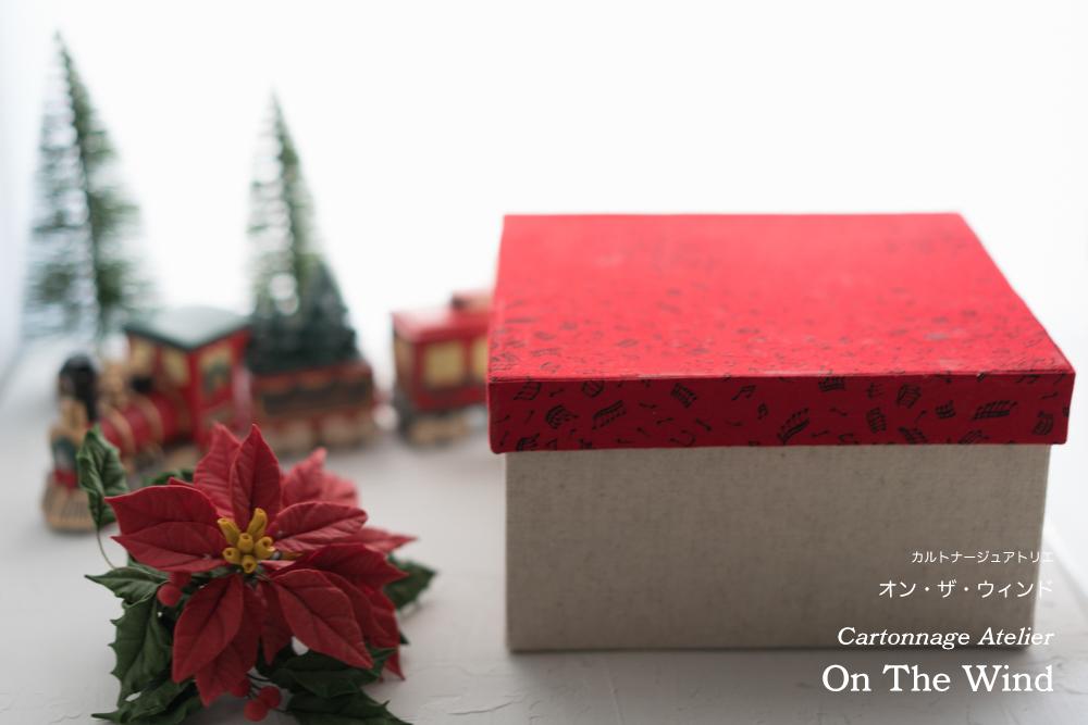 カルトナージュ*クリスマスセッティングで撮影した12月制作作品。No.2(アトリエメンバー作品)_d0154507_07442798.jpg