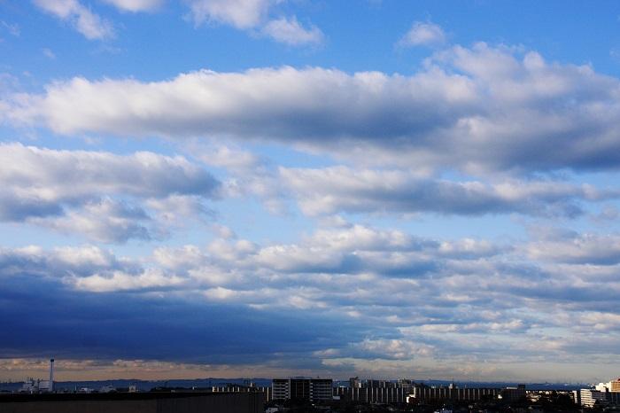 層積雲と高積雲_b0268615_7715100.jpg