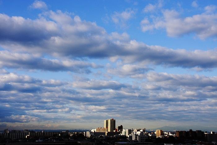 層積雲と高積雲_b0268615_773948.jpg