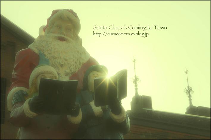 サンタが街にやってくる_f0100215_00213853.jpg
