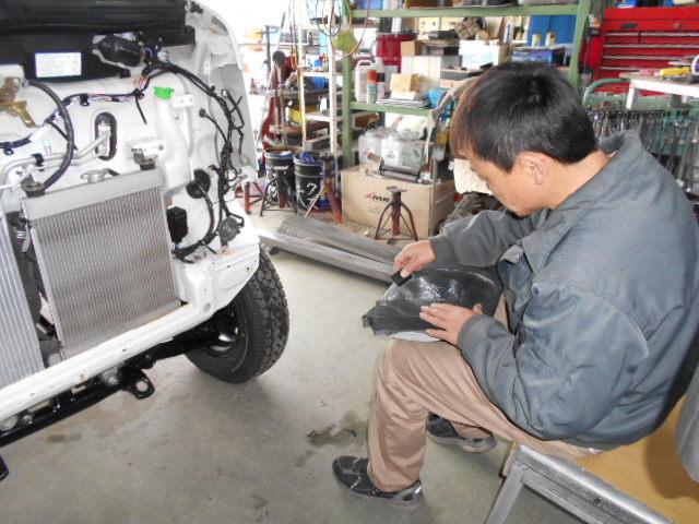 DA63T キャリイトラック アゲトラ 展示車両作製中♪♪!(*´∀`*)_c0213517_14271961.jpg
