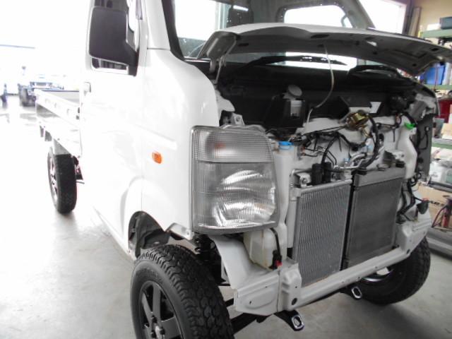 DA63T キャリイトラック アゲトラ 展示車両作製中♪♪!(*´∀`*)_c0213517_14272218.jpg
